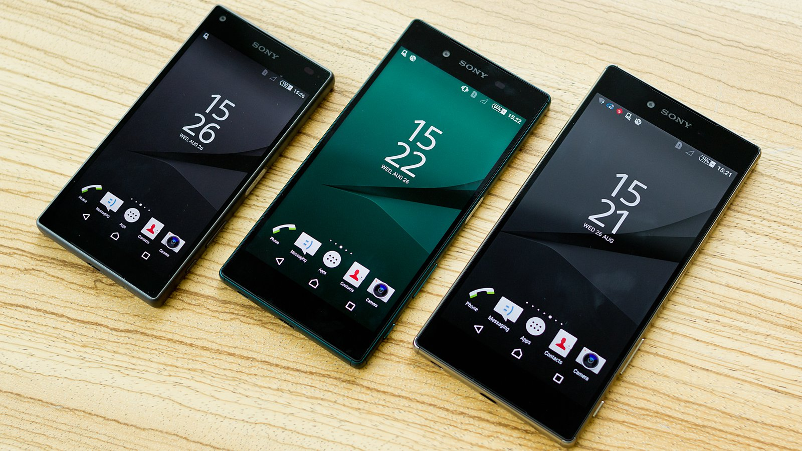 Sony's Xperia Z5 family includes the world's first 4K smartphone