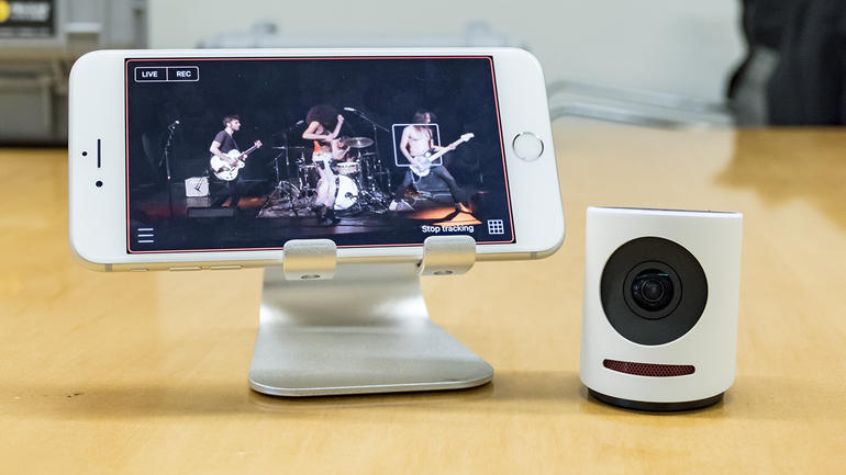 The Movi is a camera that makes live streaming awesome