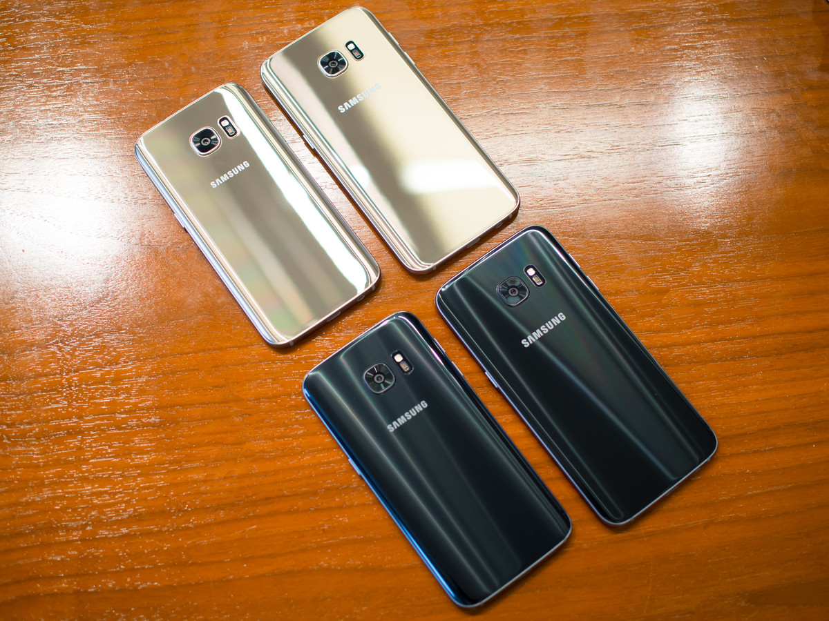 Samsung Galaxy S7 and S7 Edge are here.